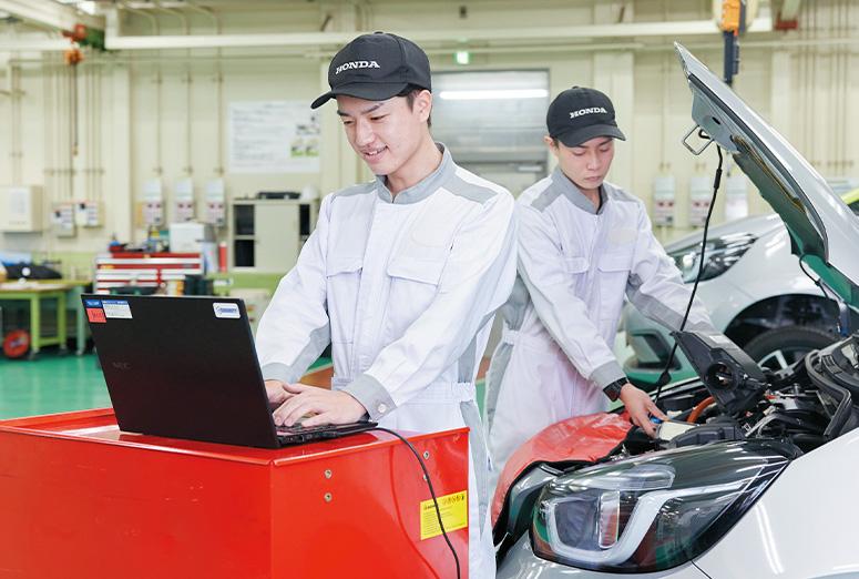 一級自動車研究開発学科