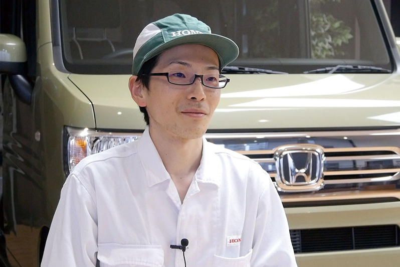 本田技研工業(株) 岩崎 泰士さん