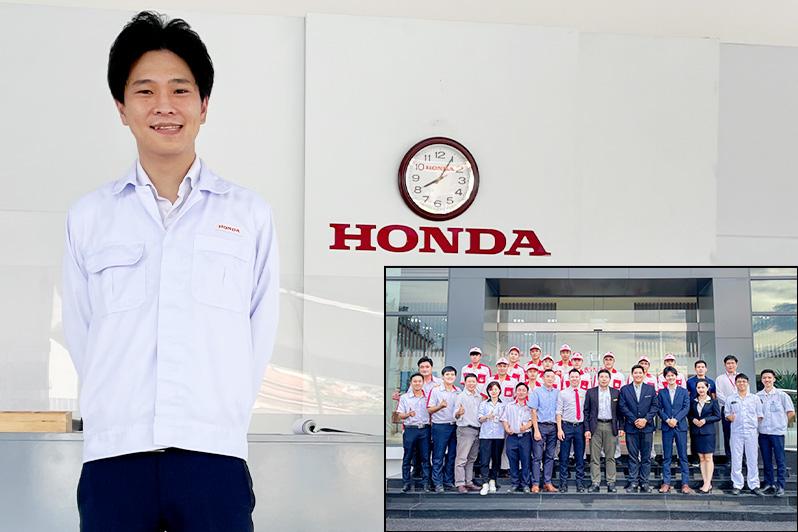(株) 本田技術研究所 HRD Sakura 奥 達郎さん