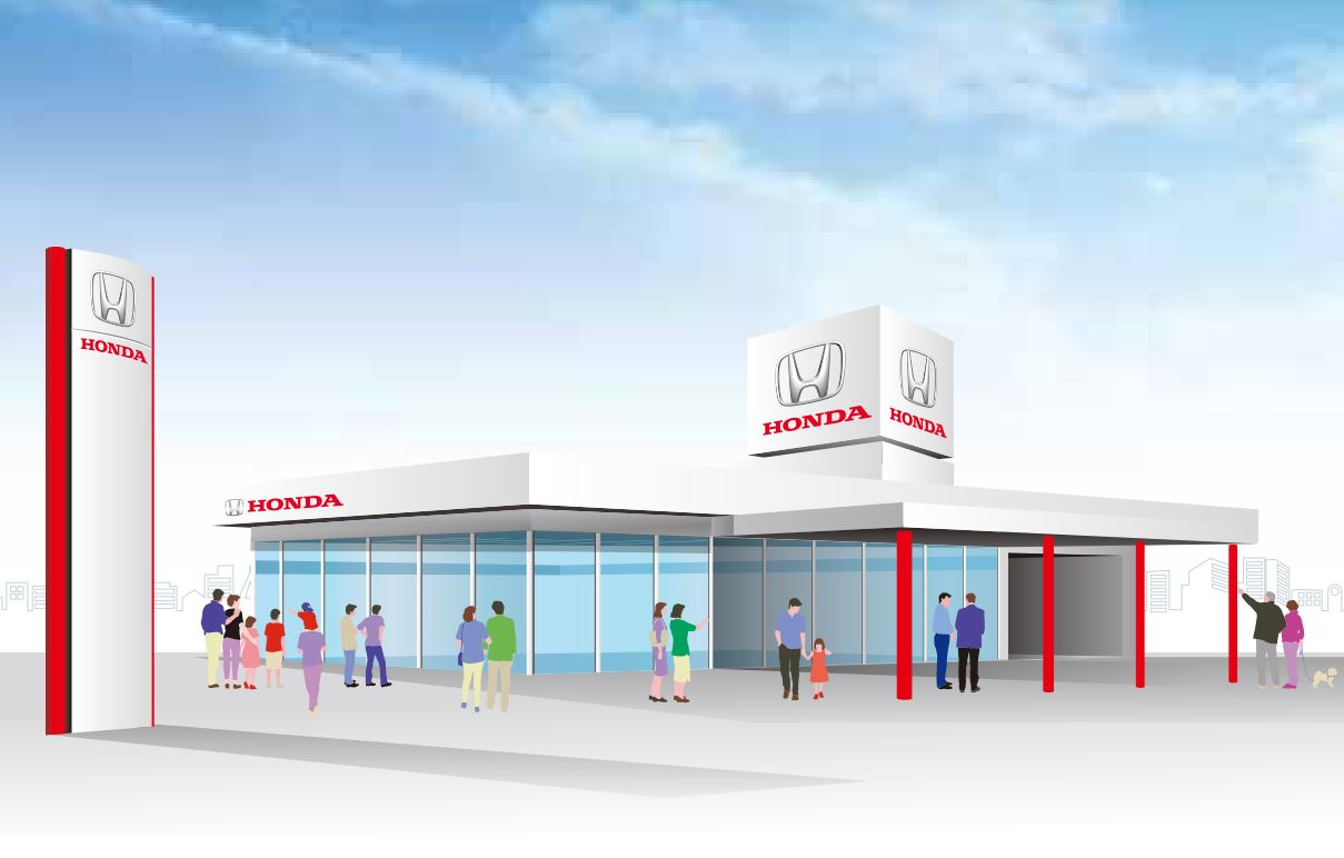 Honda Cars(四輪販売店)での会社・学校説明会