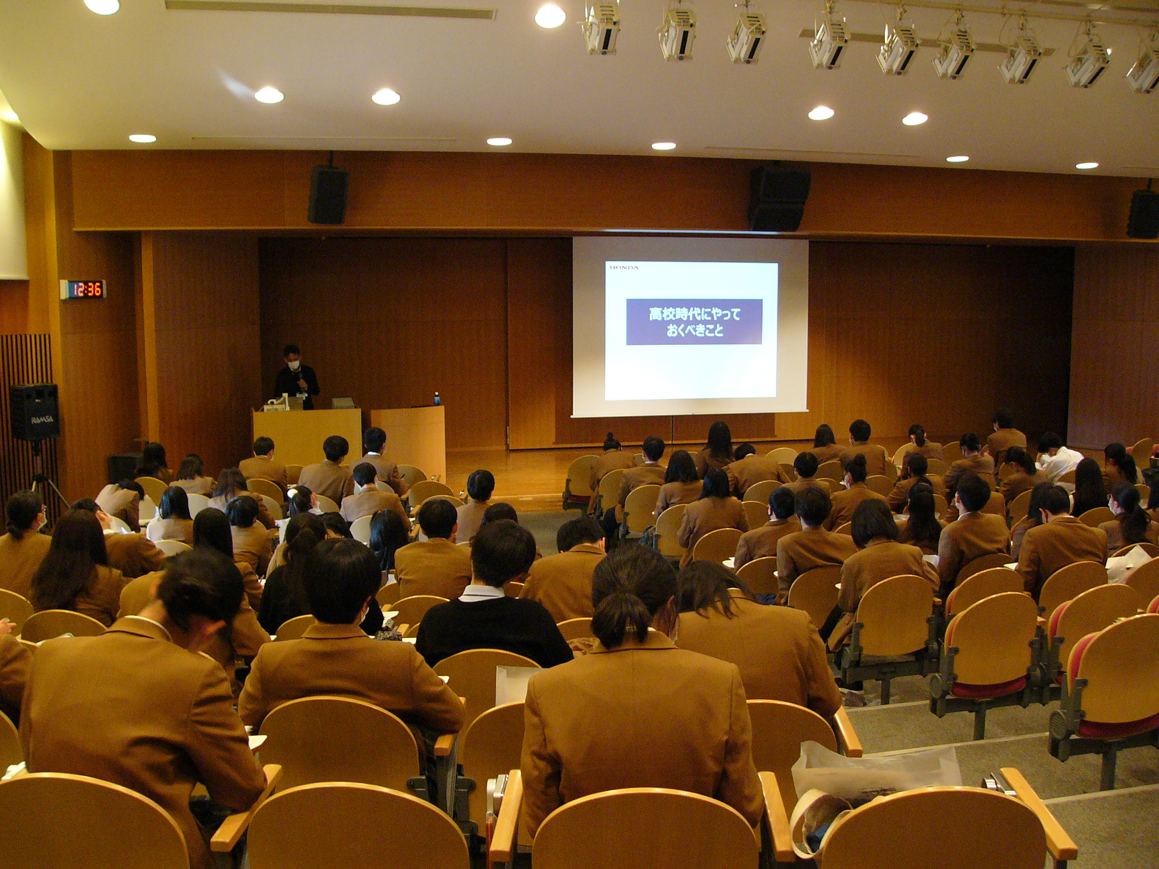 【出前授業】大阪緑涼高校での進路探究授業