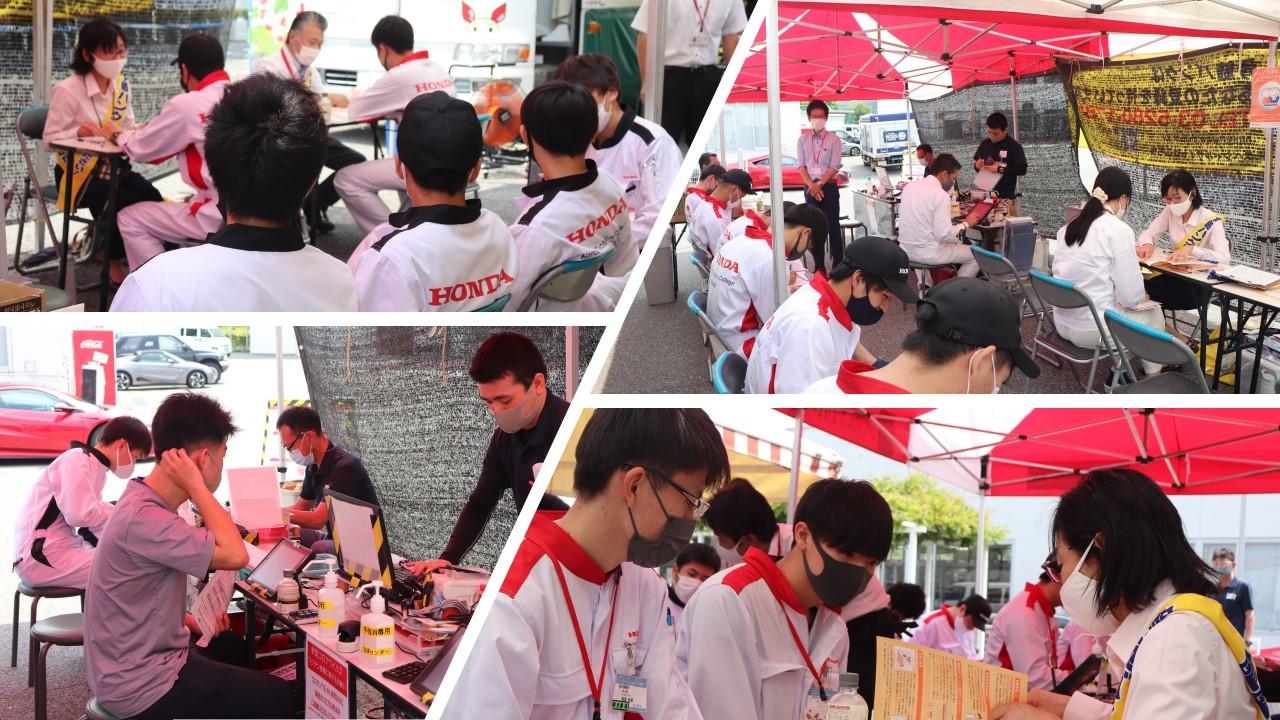 【実施】日本赤十字さんの献血と骨髄バンクのドナー登録