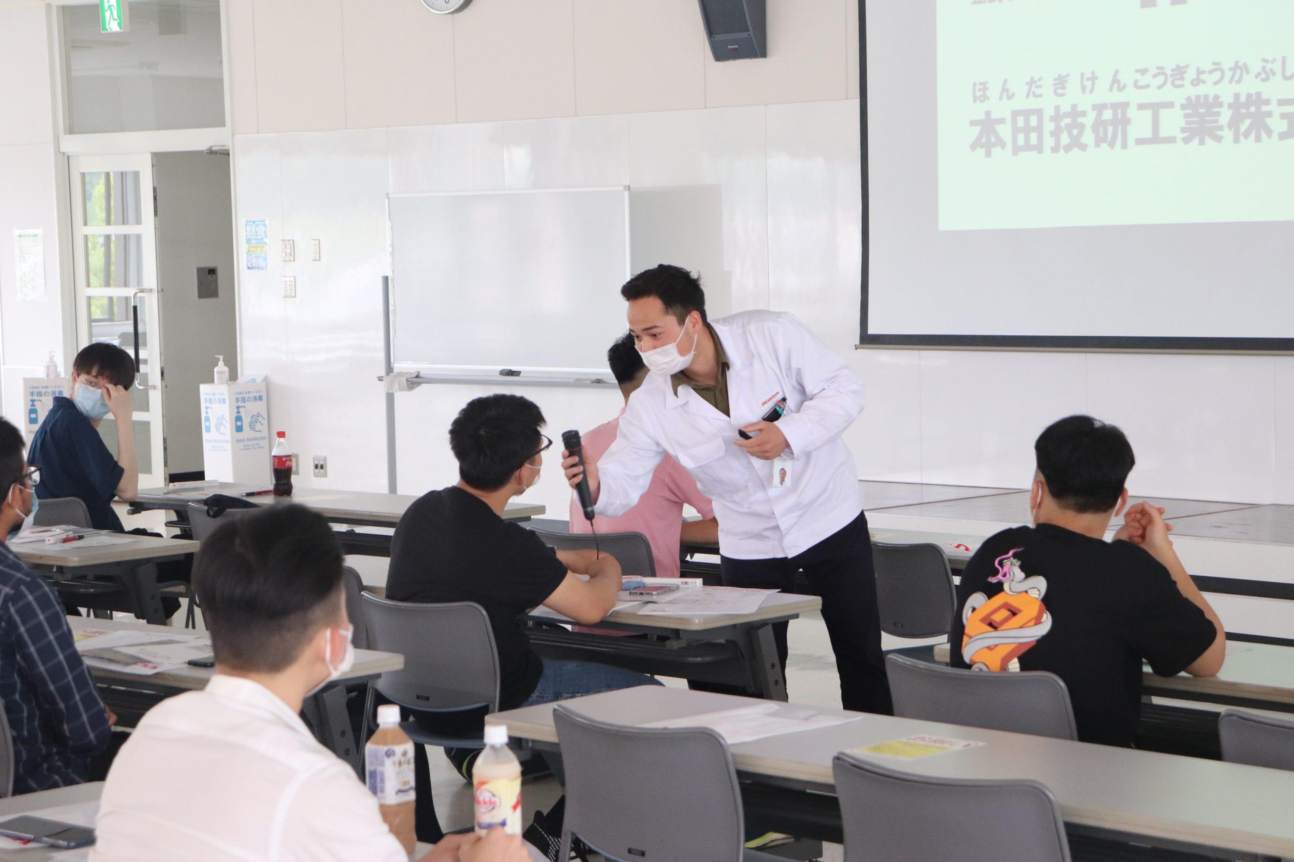 【実施】留学生専用オープンキャンパスの開催@7/10