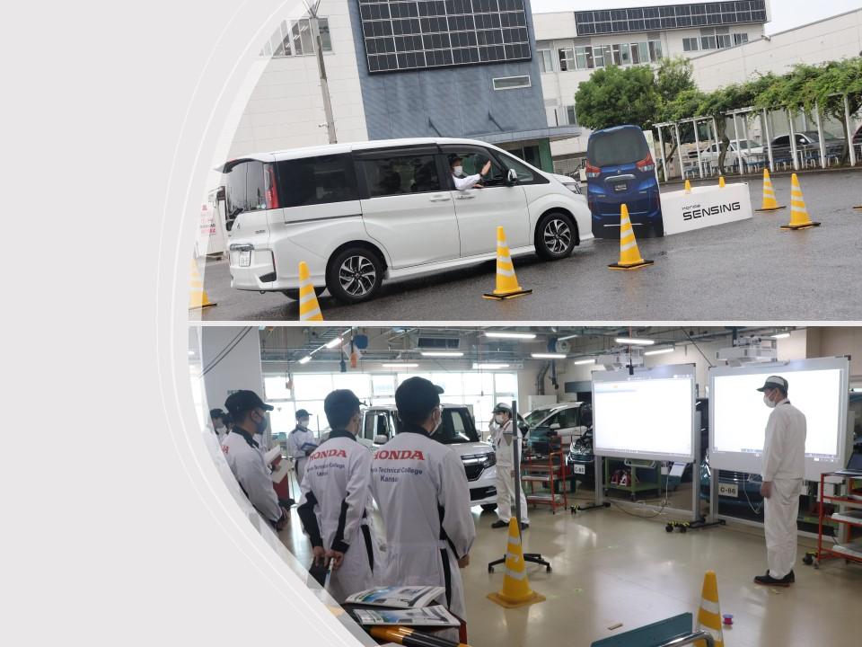 【授業】ADASの特別授業@一級自動車研究開発学科4年生